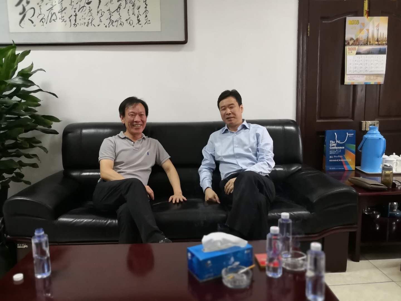 省体育局主要领导赴总局体育基金会工作交流